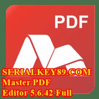 Master PDF Editor 5.6.42