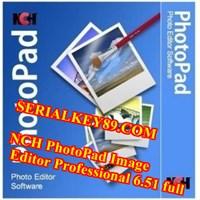 NCH PhotoPad Image Editor Professional 6.51