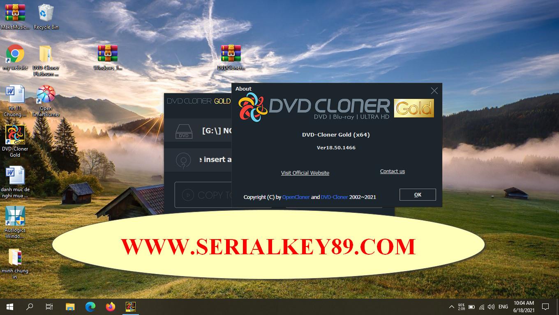 DVD-Cloner Gold 2021 18.50.1466