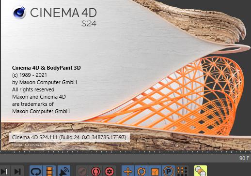 Maxon CINEMA 4D Studio S24