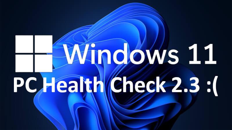 Windows PC Health Check 2