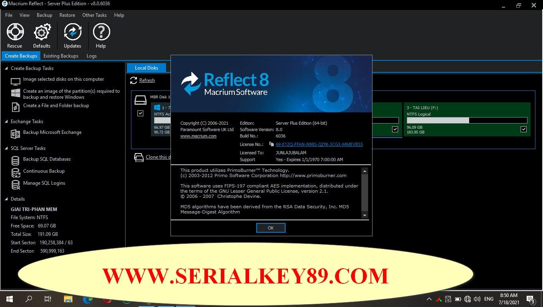 Macrium Reflect 8.0.6036 (x64)