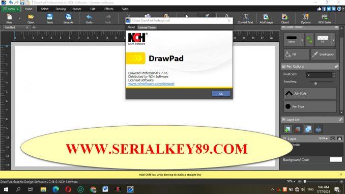 NCH DrawPad Pro 7.46